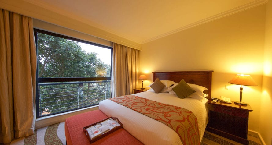 Kigali Serena Hotel is conveniently just 10km from the city's main airport. © Serena Hotels
