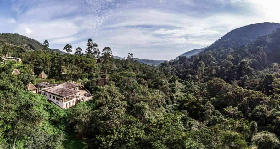 Volcanoes Bwindi Lodge is an ideal launchpad for exploring this incredible region. © Volcanoes Safaris