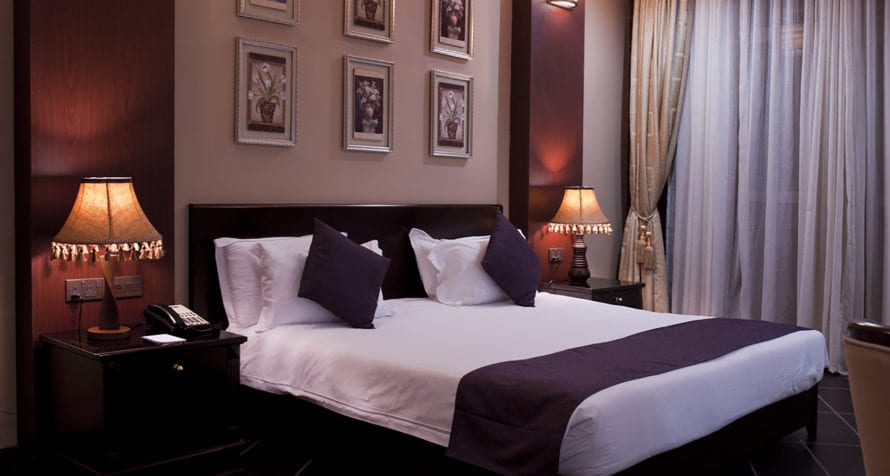 The rooms at Marriott Protea Hotel Entebbe are modern and comfortable. © Marriott