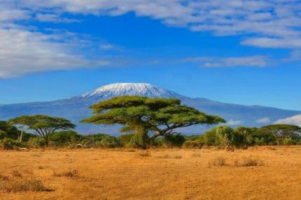 Mount Kilimanjaro guards Amboseli. © Shutterstock
