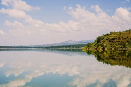 At times, Lake Elmenteita appears glass like. © Shutterstock