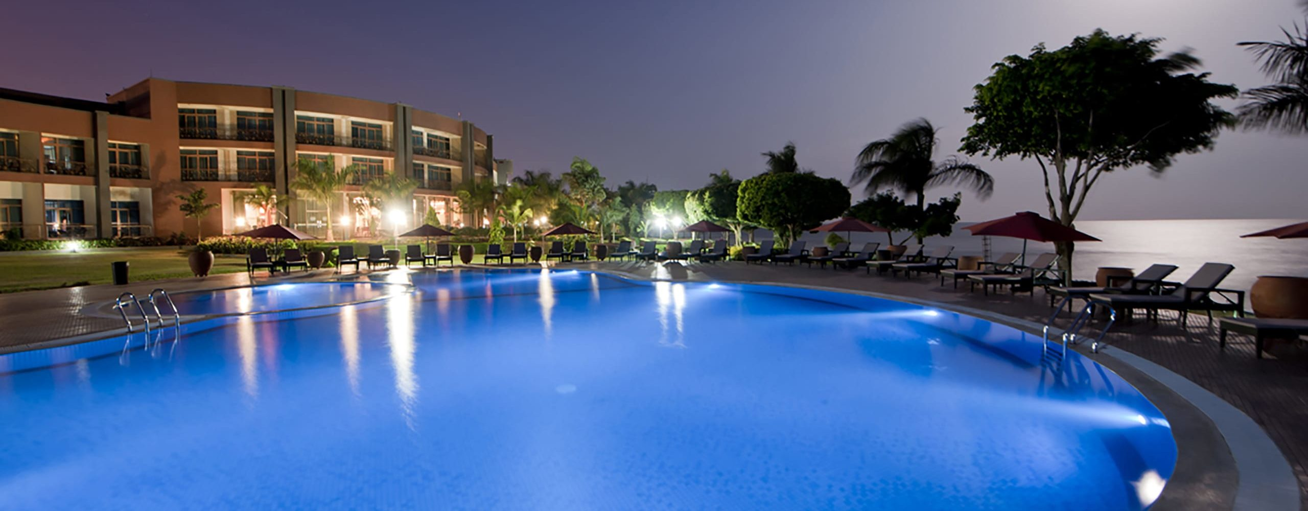Marriott Protea Hotel Entebbe is ideally located for guests wanting to spend time at Lake Victoria. © Marriott