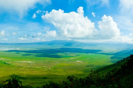 Ngorongoro Crater used to be a volcano. © iStock