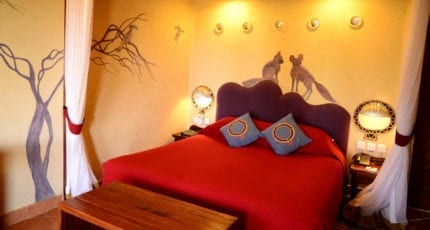 Amboseli Serena Safari Lodge has accommodation options to suit every kind of traveller. © Serena Hotels