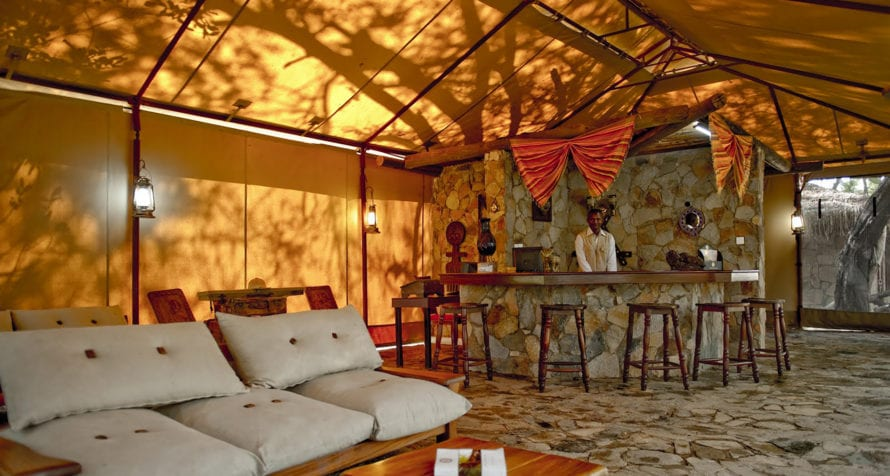 Wilderness Lodges Larsens Camp is a product of its environment. © Wilderness Lodges