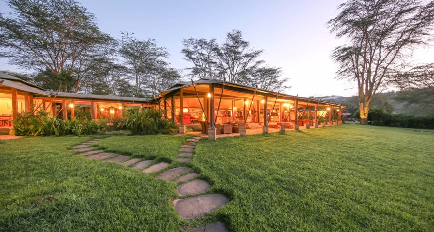 Explore the landscapes and birdlife of a Great Rift Valley sodic lake from Lake Elmenteita Serena Camp. © Serena Hotels