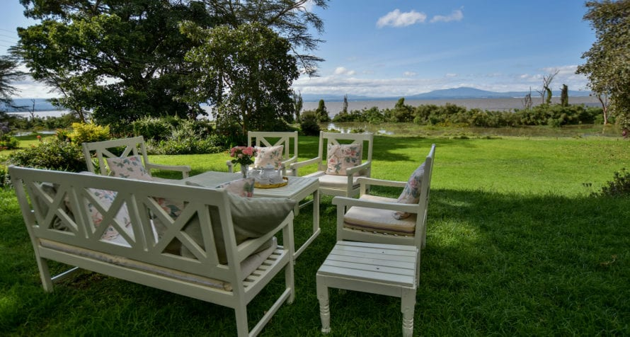 Governors' Loldia House has arresting views of Mount Longonot, a dormant volcano. © Governors' Camp Collection