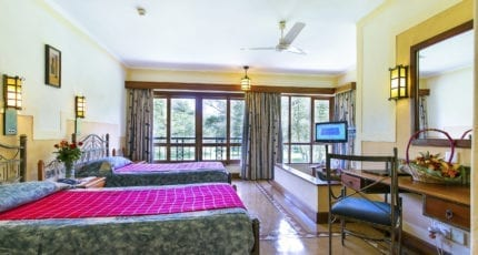 Lake Naivasha Simba Lodge has mastered the unfussy art of contemporary safari decor. © Lake Naivasha Simba Lodge
