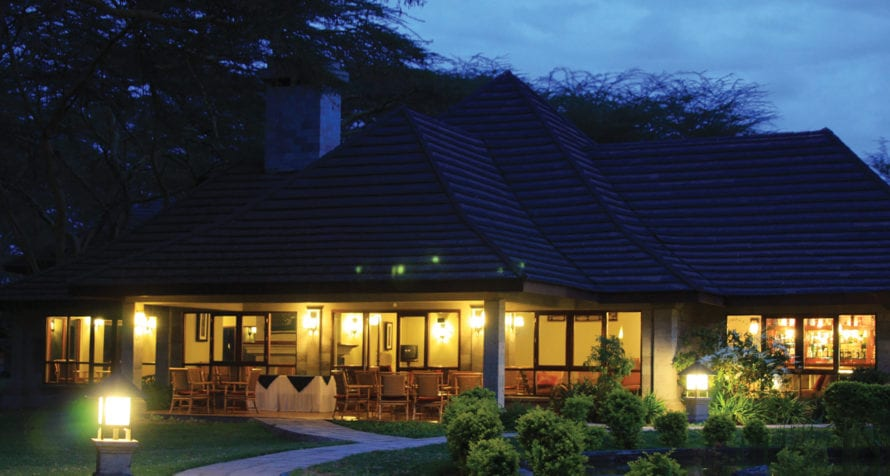 Lake Naivasha Simba Lodge offers contemporary comfort and style. © Lake Naivasha Simba Lodge