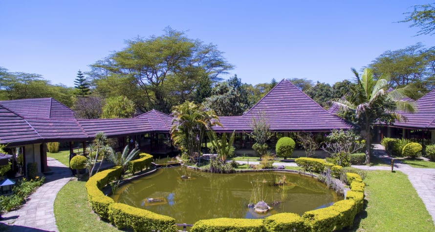 The range of facilities at Lake Naivasha Simba Lodge cater to conferences, vacations and even weddings. © Lake Naivasha Simba Lodge
