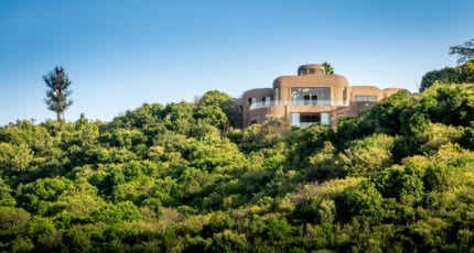 Mara Serena Safari Lodge has a superb location on a small hill. © Serena Hotels