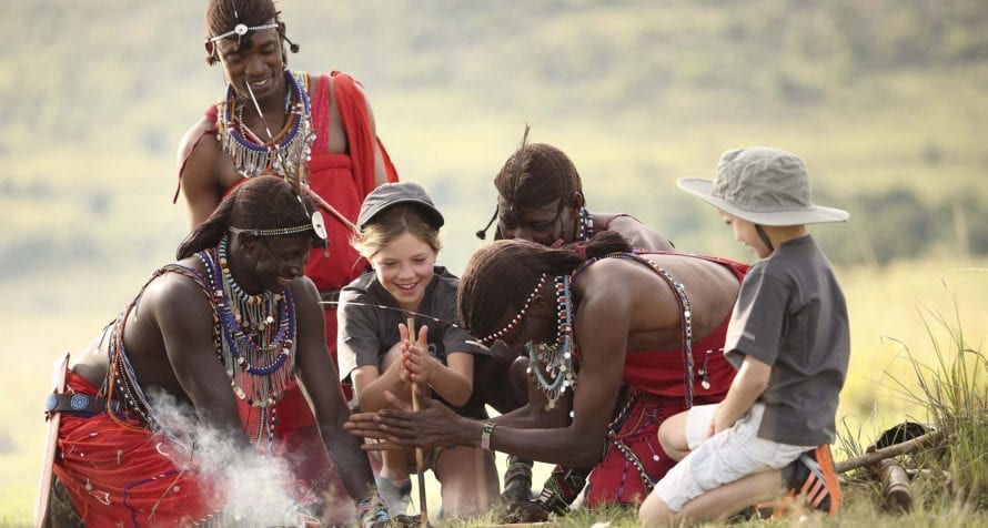 &Beyond Kichwa Tembo Tented Camp has an excellent kids' programme. © &Beyond