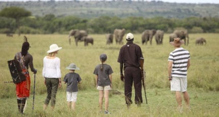 Guided bush walks from &Beyond Kichwa Tembo Tented Camp provide opportunities to slow things down. © &Beyond