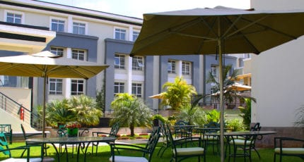 Eka Hotel Nairobi is conveniently close to both Nairobi's domestic and international airports. © Eka Hotel Nairobi