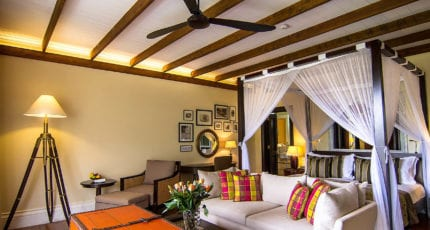 Hemingways Nairobi's 45 luxurious suites are equipped with all modern conveniences. © Hemingways Nairobi