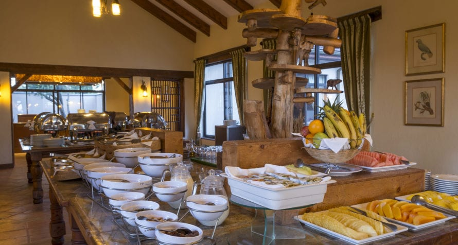 You won't go hungry at Sweetwaters Serena Camp. © Serena Hotels