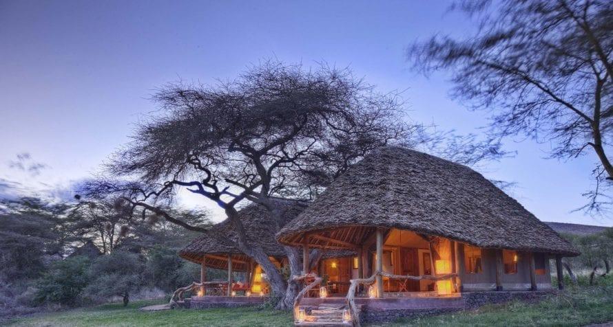Elewana Tortilis Camp Amboseli is a 100% solar-powered camp. © Elewana Collection