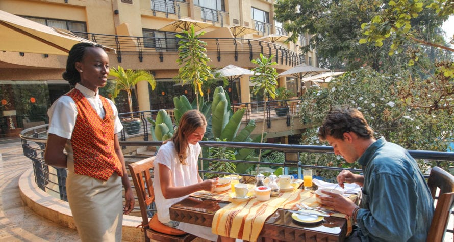You'll be well taken care of by the staff at Kigali Serena Hotel. © Serena Hotels