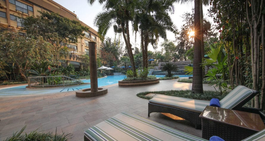 Kigali Serena Hotel has a luxurious pool. © Serena Hotel