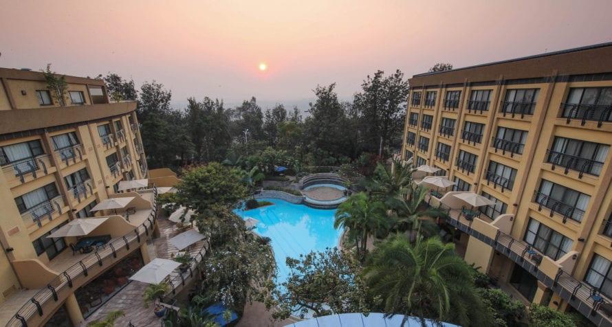 Kigali Serena Hotel is an ideal city base for safari or business travellers in Rwanda. © Serena Hotels