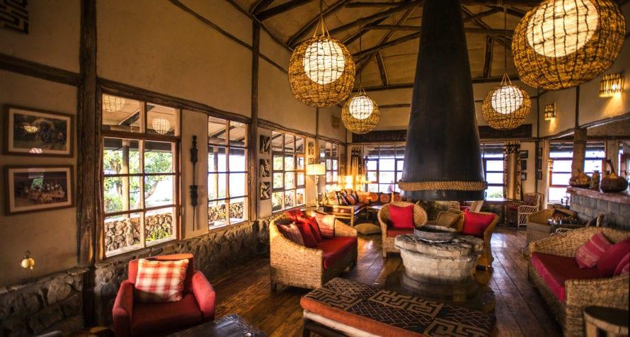 Volcanoes Virunga Lodge provides a welcome sanctuary after gorilla trekking. © Volcanoes Safaris