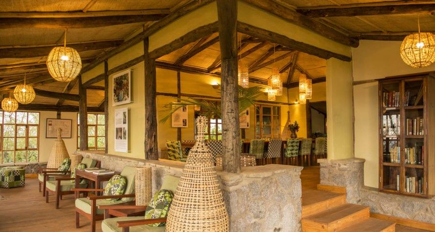Volcanoes Virunga Lodge sits at an altitude of 2,300m. © Volcanoes Safaris