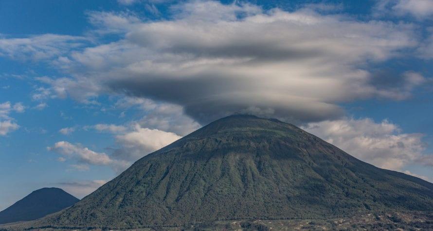 Hike up the volcano from Volcanoes Virunga Lodge. © Volcanoes Safaris