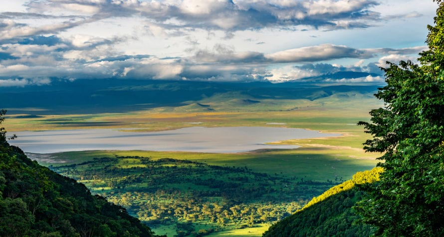 Lake Magadi is in the southwest of Ngorongoro Crater. © Shutterstock
