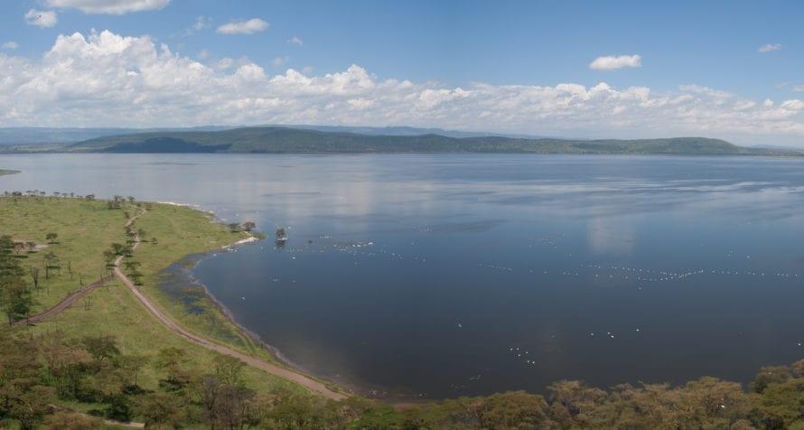 Lake Naivasha Simba Lodge makes the most of its location.