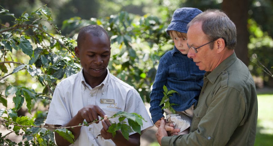 Learn all about coffee at Elewana Arusha Coffee Lodge. © Elewana Collection