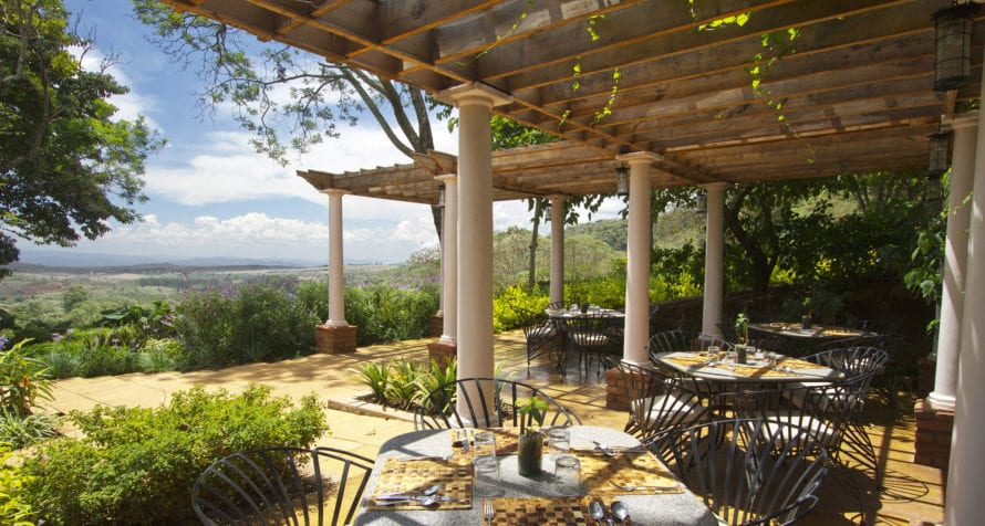 Gibb's Farm is midway between Ngorongoro Crater and Lake Manyara. © Classic Portfolio