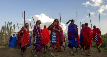 Maasai live near Ngorongoro Serena Lodge. © Serena Hotels