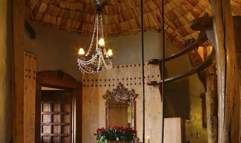 &Beyond Ngorongoro Crater Lodge is impossibly romantic. © &Beyond