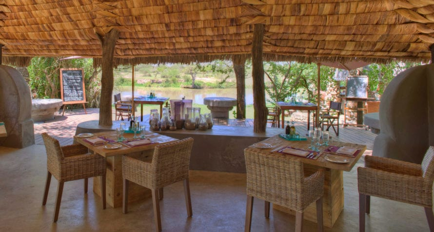 Lazy lunches are the order of the day at &Beyond Grumeti Serengeti Tented Camp. © &Beyond