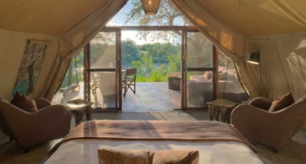 &Beyond Grumeti Serengeti Tented Camp has just 10 tented suites. © &Beyond