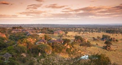 Four Seasons Safari Lodge is situated in the fabled Serengeti National Park. © Four Seasons