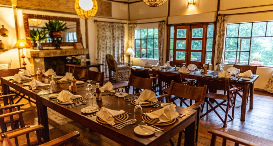 Volcanoes Bwindi Lodge's offers delicious meals. © Volcanoes Safaris
