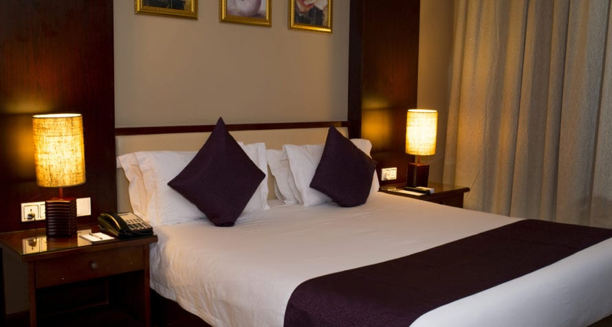 Marriott Protea Hotel Entebbe is just 1km from Uganda's main airport. © Marriott
