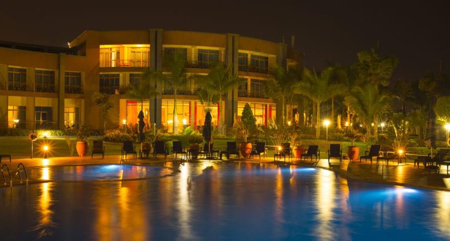 Marriott Protea Hotel Entebbe has a genuine resort feel.