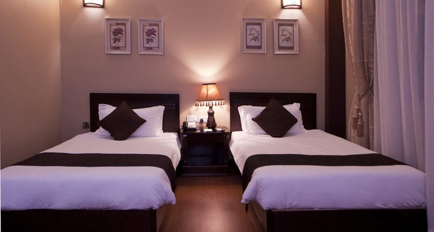 Doubles and twins are available at Marriott Protea Hotel Entebbe. © Marriott