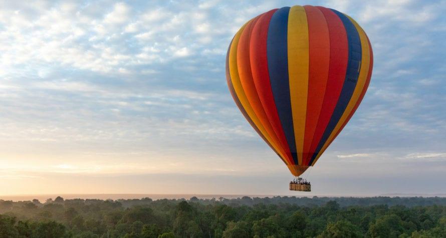 Don't miss a balloon safari over the Masai Mara. © Wildlife Safari