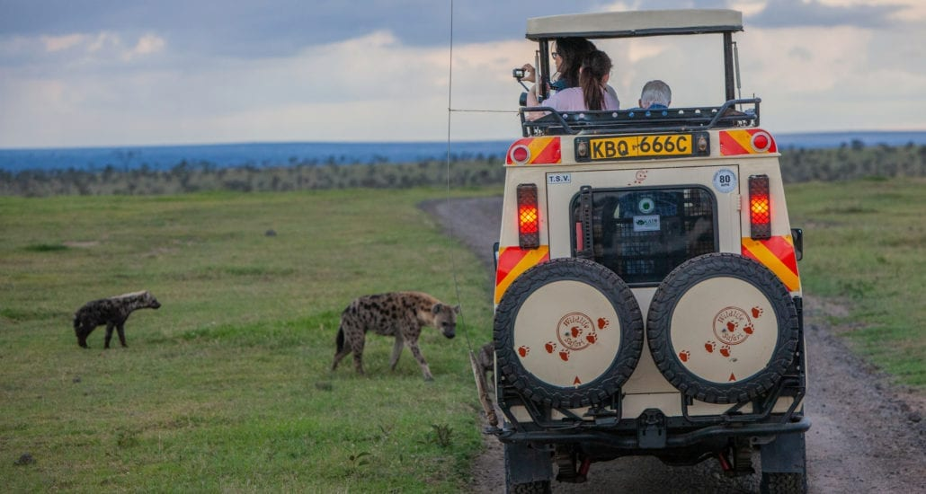 You'll never be crowded in private Wildlife Safari vehicles. © Wildlife Safari